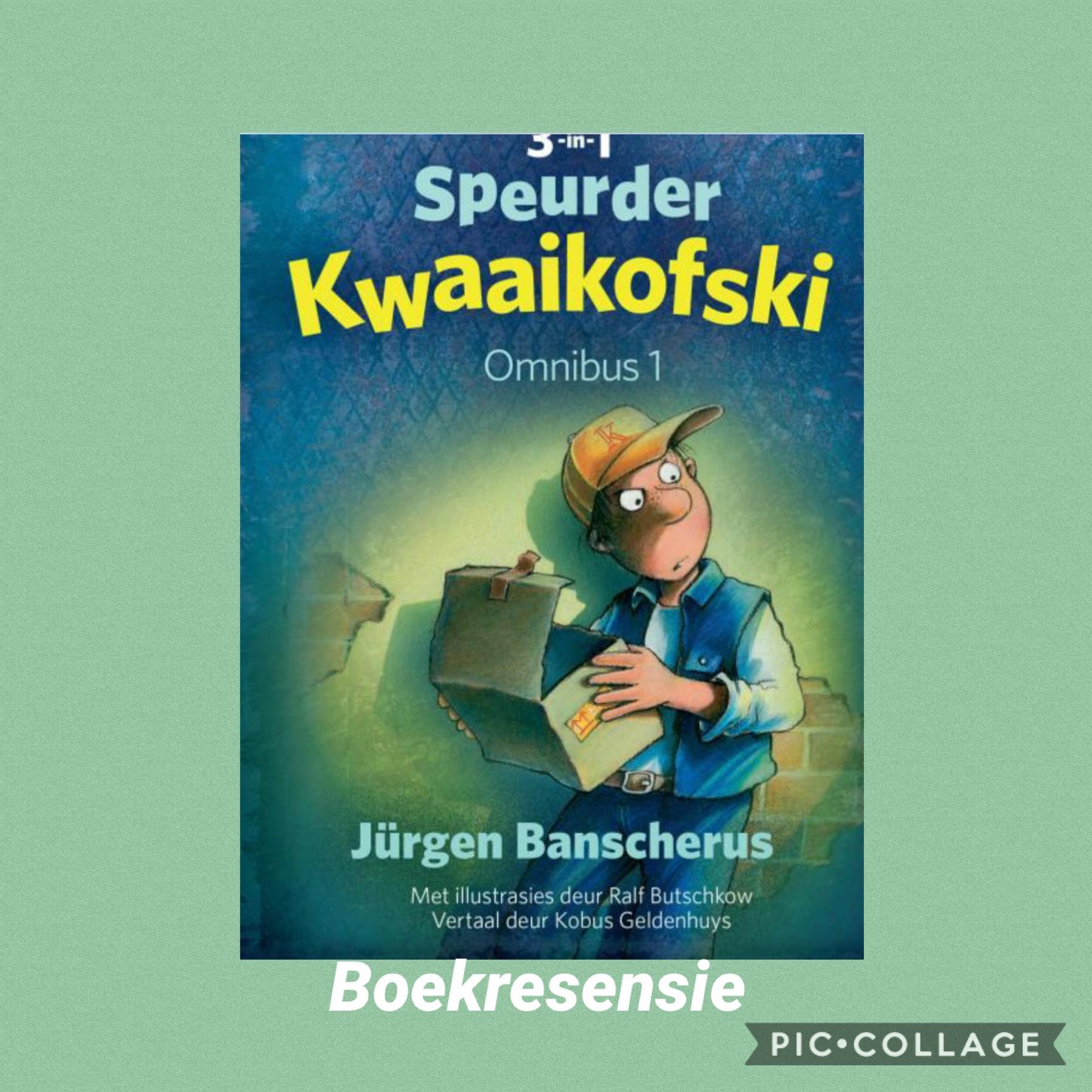Boekresensie: Speurder Kwaaikofski – Omnibus 1
