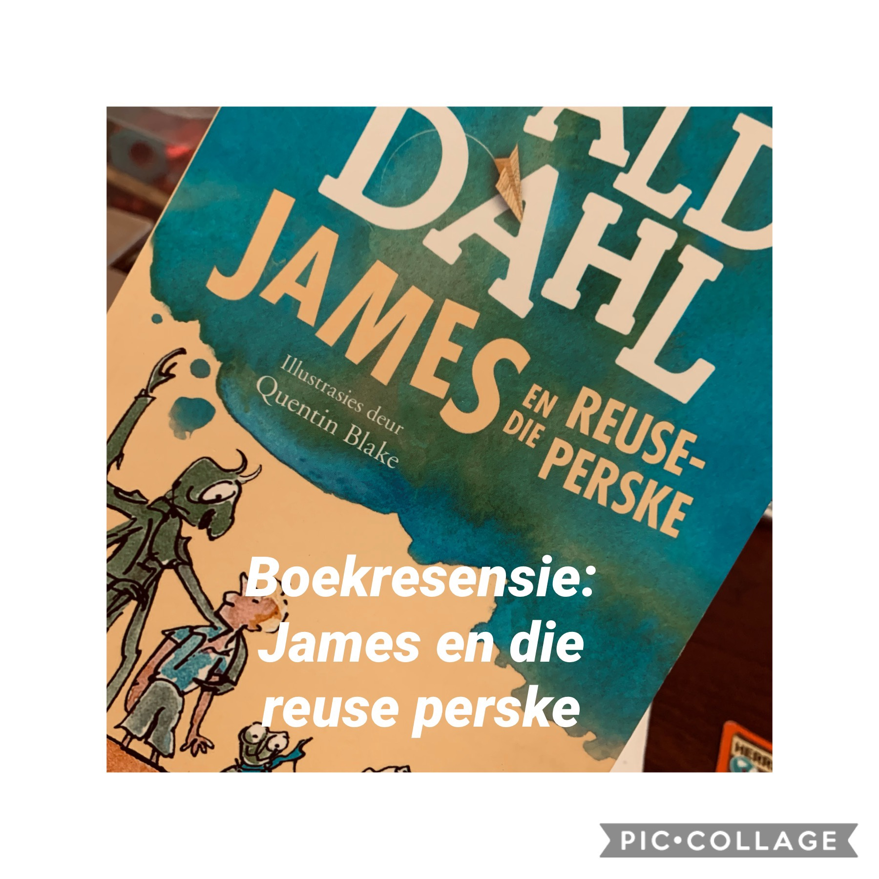 Boekresensie: James en die reuse perske