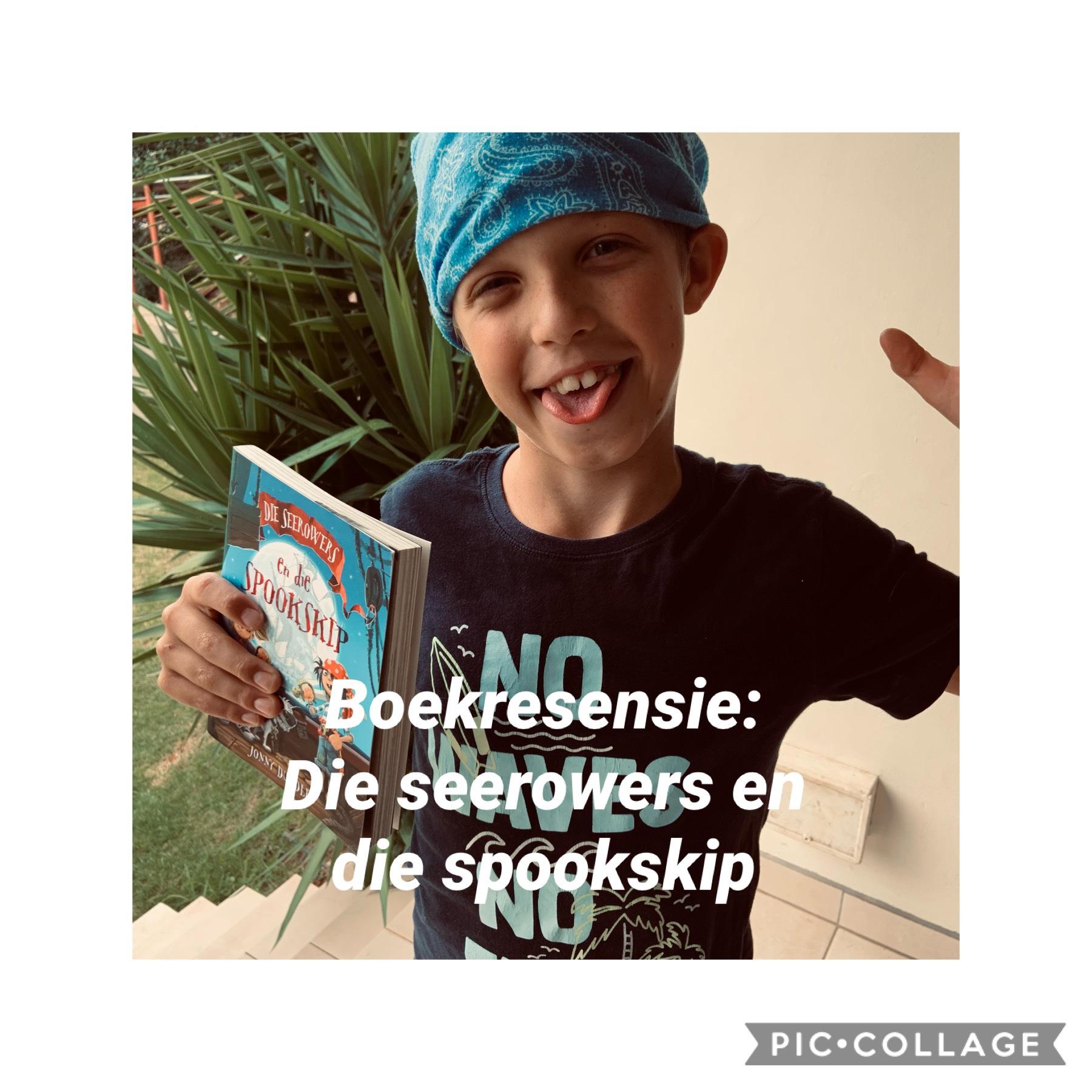 Boekresensie: Die seerowers en die spookskip